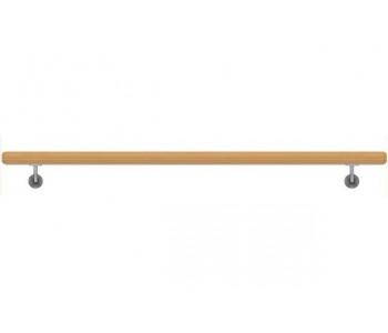 Dřevěné Dubové Madlo Na Zeď 49x1000mm
