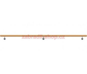 Dřevěné Dubové Madlo Na Zeď 49x3000mm