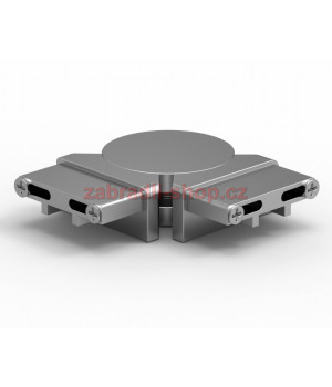 Flexibilní spoj madla rovný 60x25mm