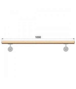 Dřevěné Bukové Madlo Na Zeď 1000mm